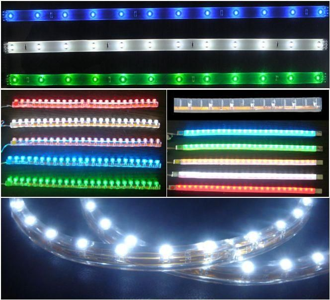 Tiras Led Flexibles Economicas Cintas De Luces Led De Plastico