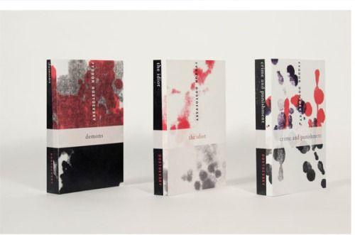 Dostoevsky Book Cover Series - KIYOMI HOSHIKAWA