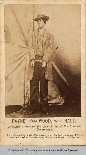 Lewis Payne Powell Civil War Photography Civil War History Civil War Confederate