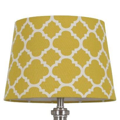 Lamp Shades At Target Flocked Ogee Lamp Shade  Threshold™  Gold Lamp Shades Apartment