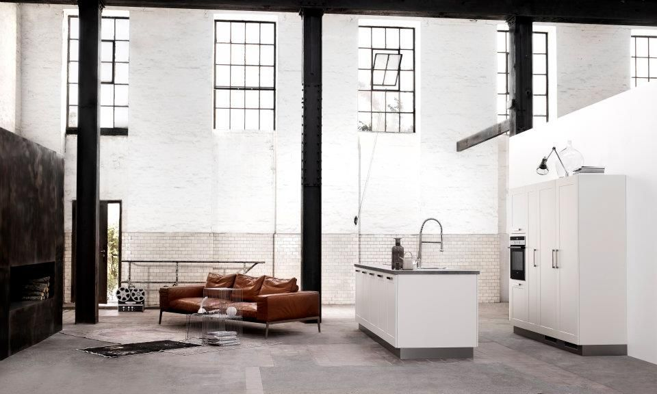 The fantasy of living in an old warehouse space