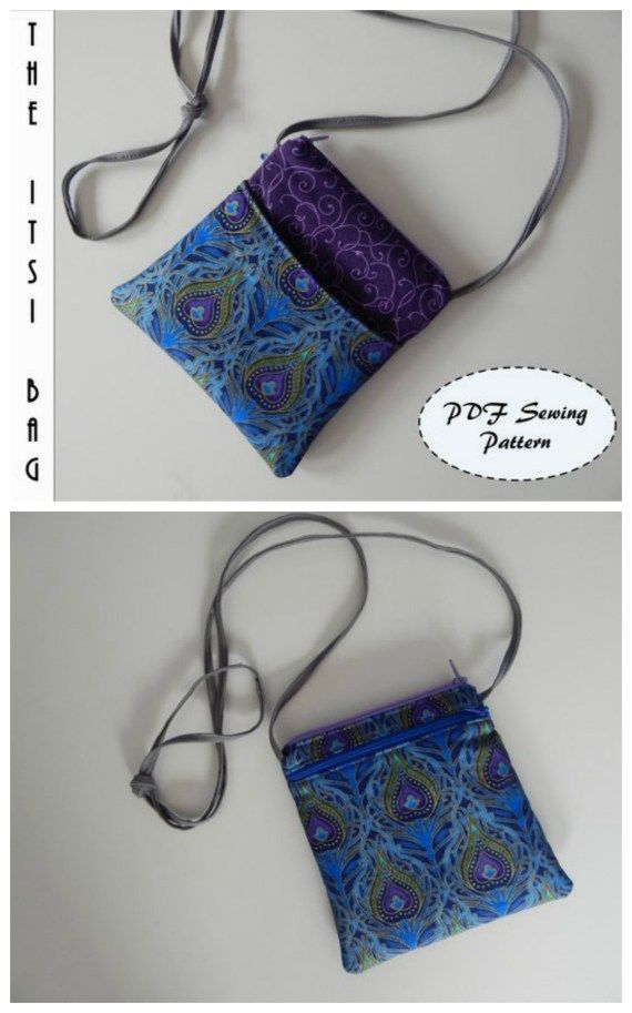The Itsi Bag small sling for your essentials pattern