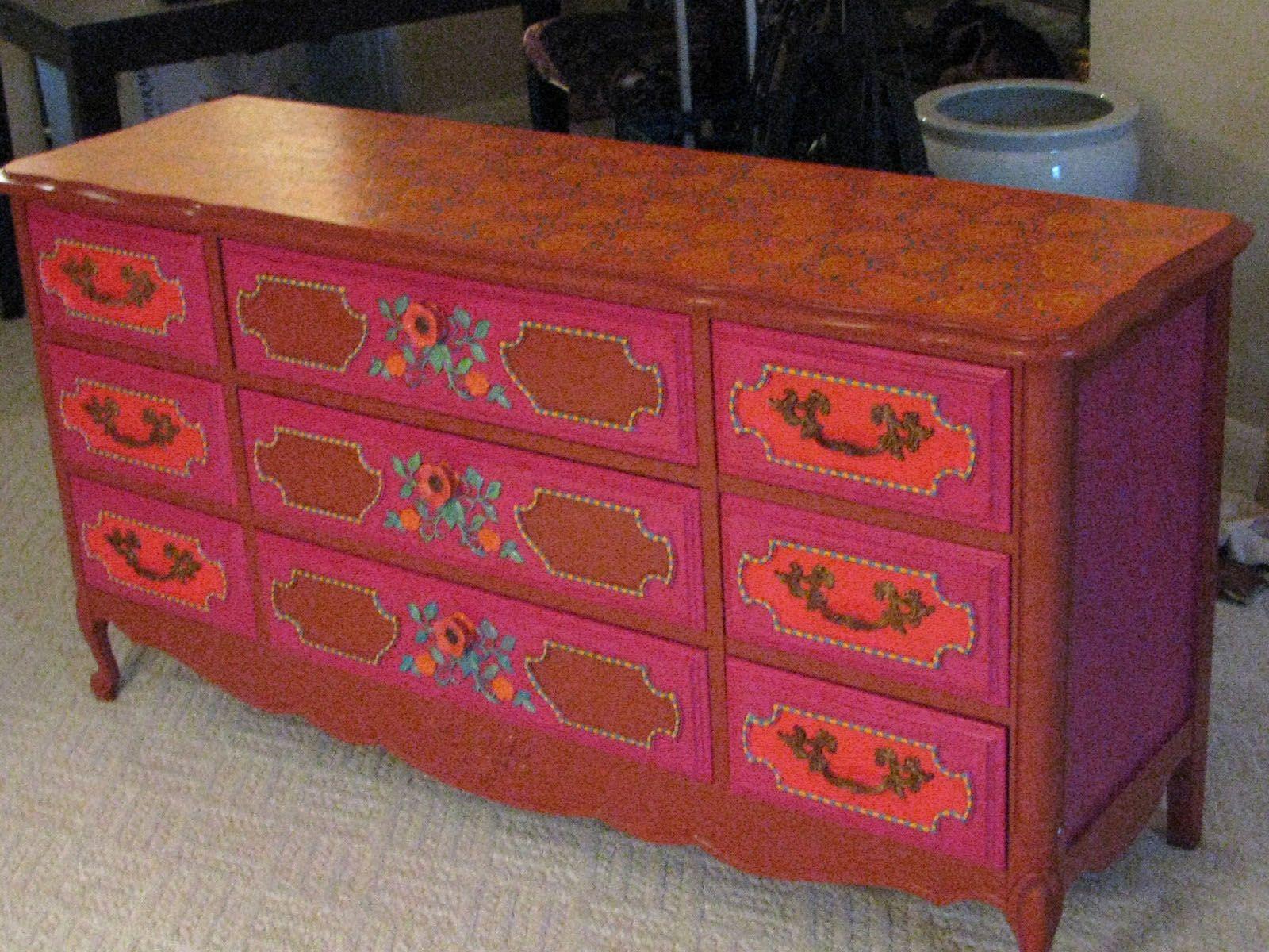 Gypsy Dresser Repaint By Le Wray Http Www Ebay Diy Dressersbedroom Dressersgypsy Roombohemian