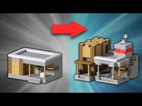 How to Transform a Village Blacksmith | Minecraft - YouTube