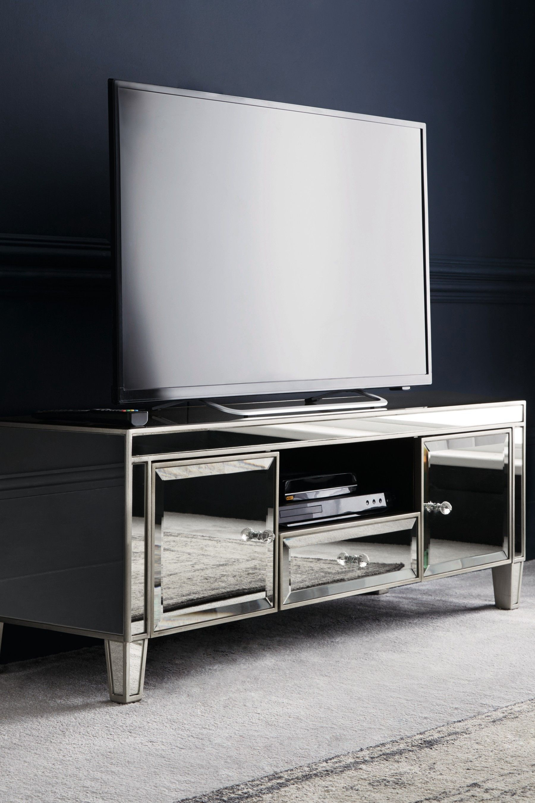 Next Fleur Tv Stand Silver Living Room Tv Stand Tv Stand