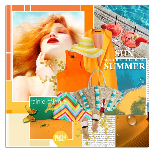 """Summer Sun Splash"" by rainie-minnie ❤ liked on Polyvore"