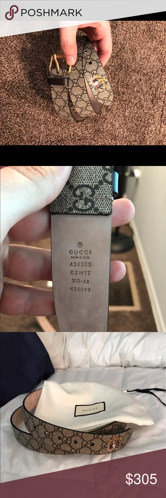 eecc4f27a3c Gucci Belt Gucci Bengal Belt worn once