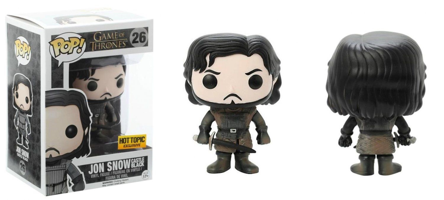 Vinyl Game Of Thrones Jon Snow Collectable Figurine Model No 26 Funko POP