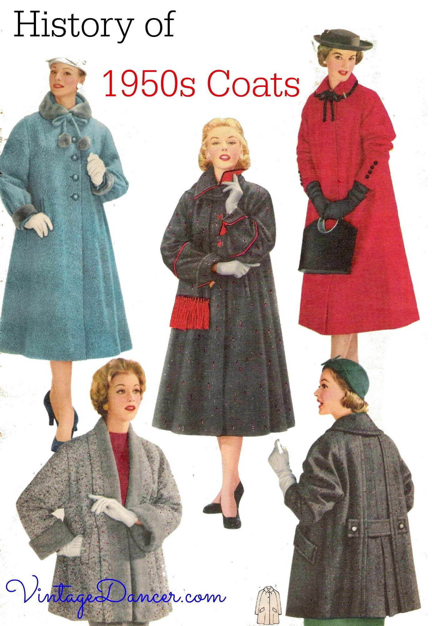 1950S Coats 1950s coats jackets history-- Reference article - Your guide to vintage 1950s style coats: swi… in 2020 - 1950s fashion, Vintage coat, Vintage outfits - 웹