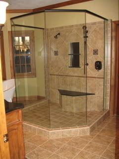 Walk In Stall Shower Size Dimensions For Doorless