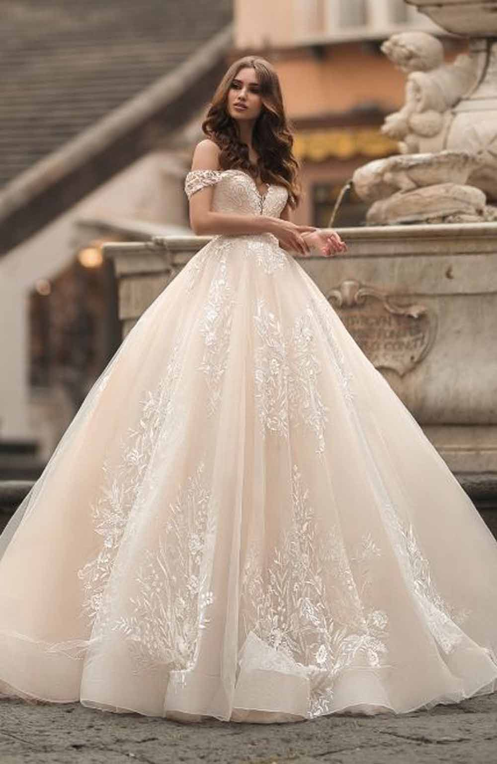 11 Wonderful Wedding Gowns Like Fairy Tale Princess Don T Miss In 2020 Ball Gowns Wedding Wedding Dresses Bridal Dresses