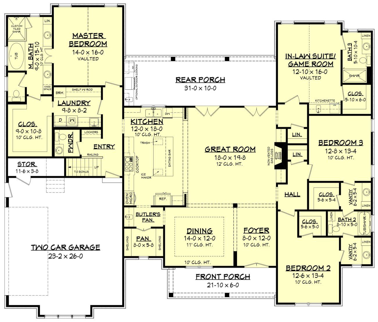 Colin House Plan House Plan Zone House Plans Modern House Plans House
