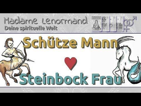 Schütze Mann Steinbock Frau