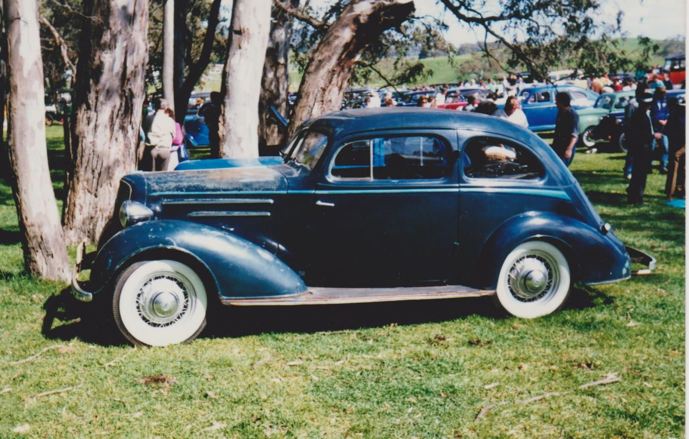 1935 Holdens Body Chev Master Sloper The First Year Of Chev