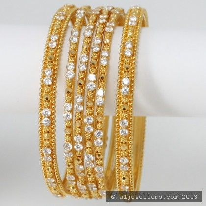 22ct Indian Gold Bangles 1 Traditional Registration Bridal