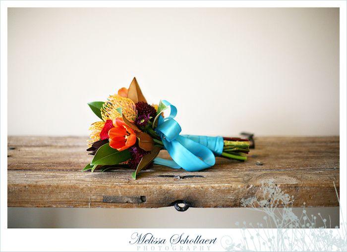 INSPIRAÇÃO: casamento laranja e turquesa | Casar é um barato