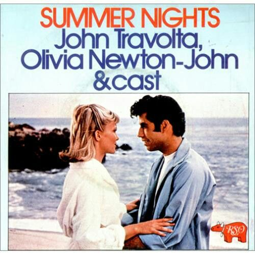 John Travolta, Olivia Newton-John & cast - Summer nights