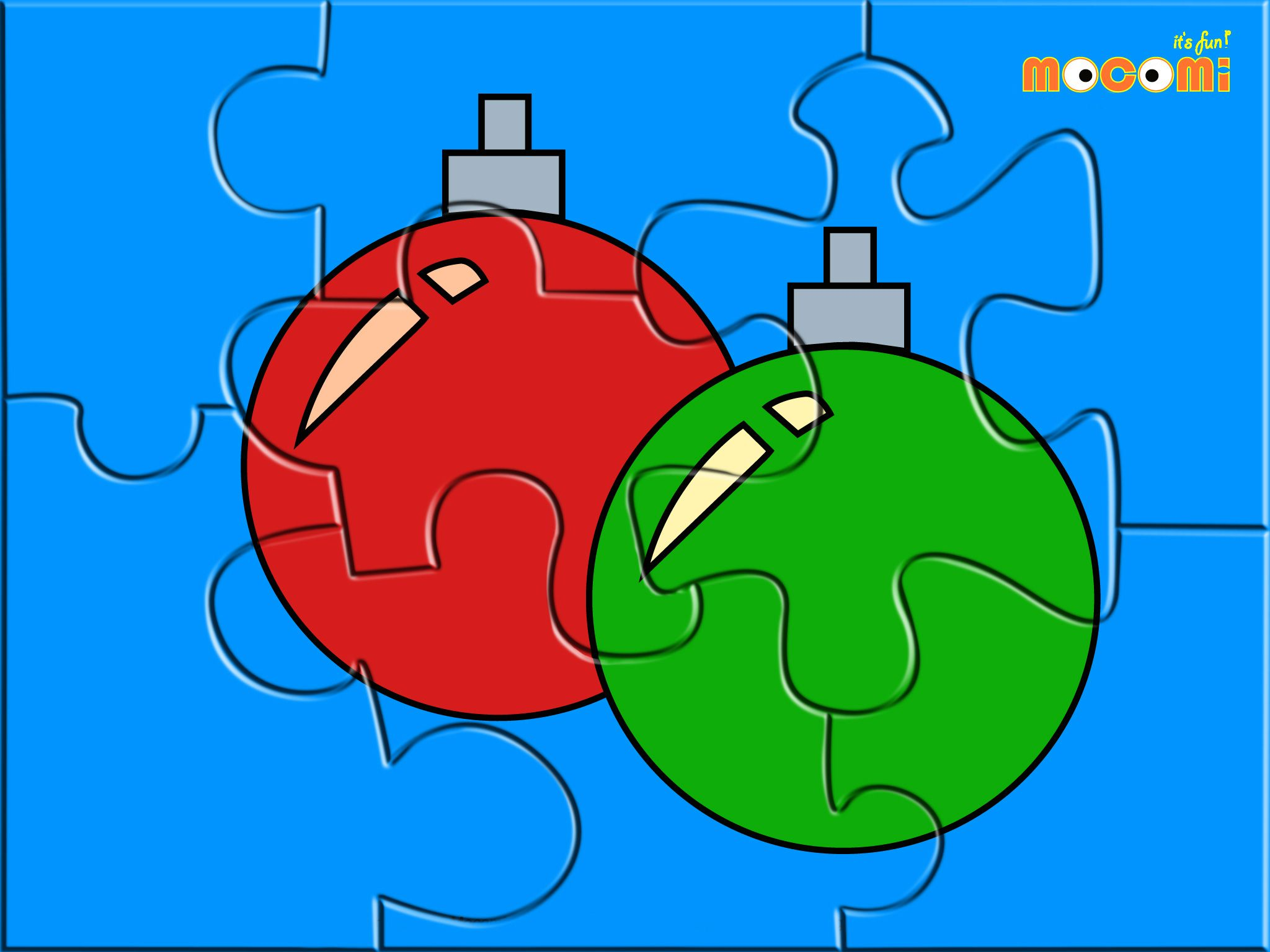Christmas Bells - Jigzaw Puzzles for Kids | Pre school, School and Craft