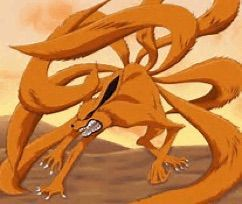 Naruto S Younger Twin Slow Updates Nine Tailed Fox Naruto Tailed Beasts Naruto Naruto Characters