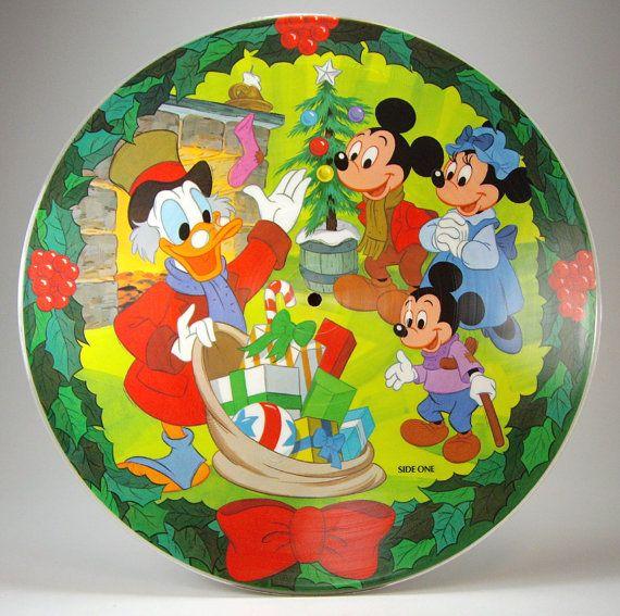Vintage 1982 Mickey's Christmas Carol Record by myatticstreasures