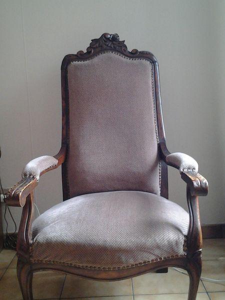 fauteuil voltaire a 95 tapissier