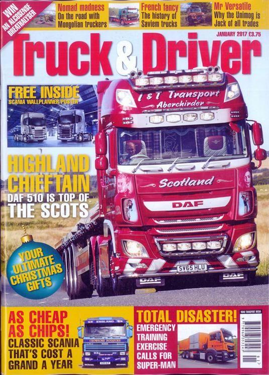 Buy Truck And Driver Magazine Turkey British Magazines From