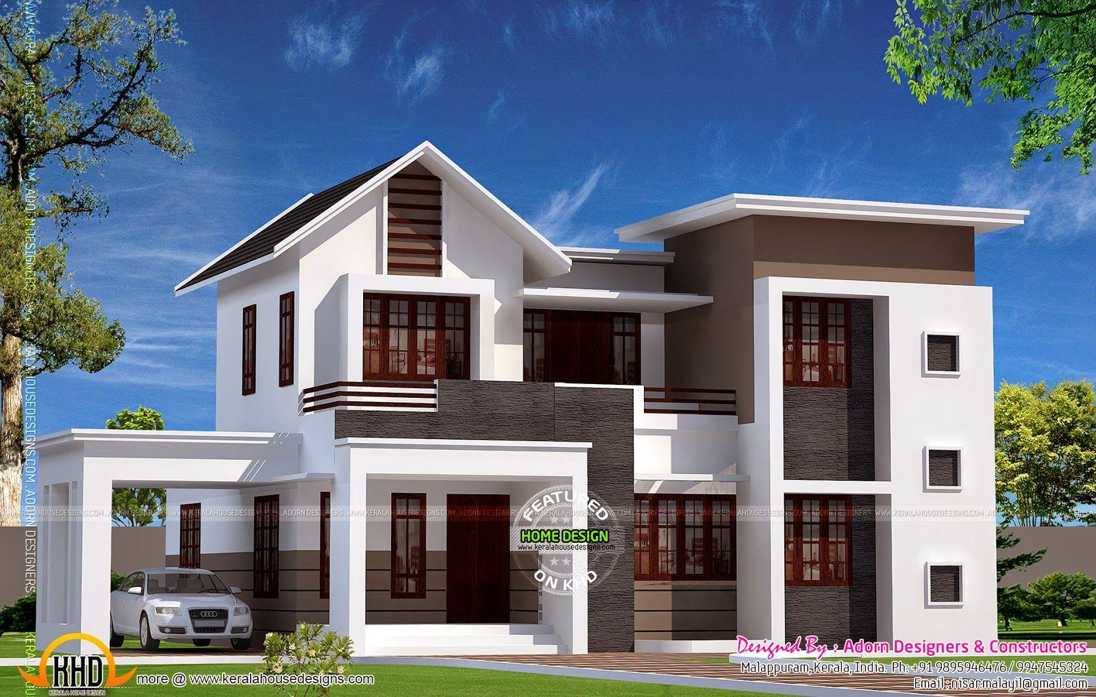 September 2014 Kerala Home Design And Floor Plans Kerala House Design House Outside Design 2 Storey House Design