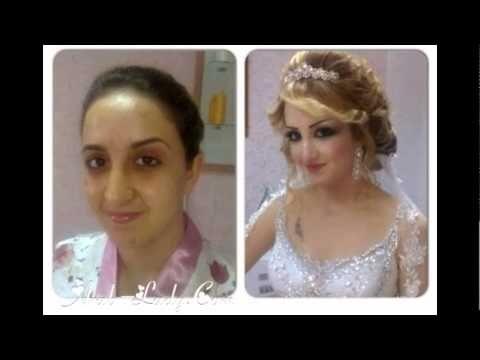 صدمة صور لعرائس قبل وبعد المكياج Bride Fashion Crown