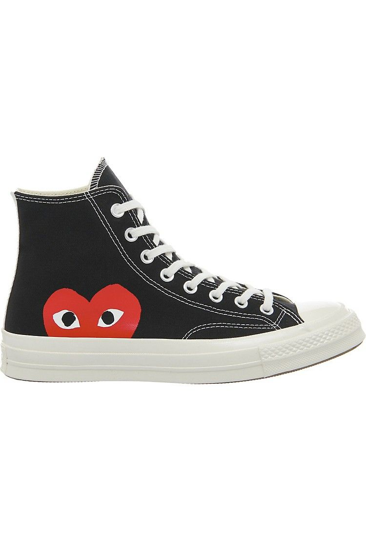7e256e5c750 COMME DES GARCONS - Converse high-top 70s x play cdg trainers ...