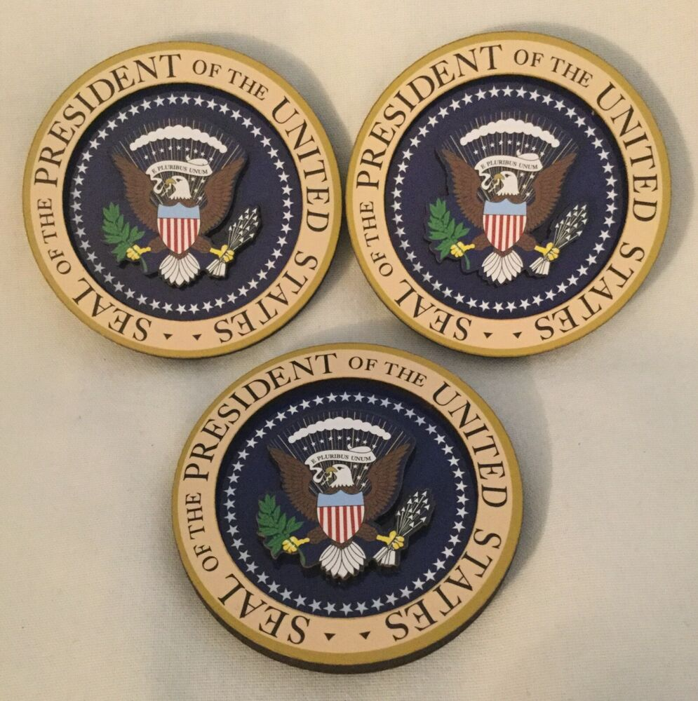 Iron on Presidential Seal Patch USA Federal Government