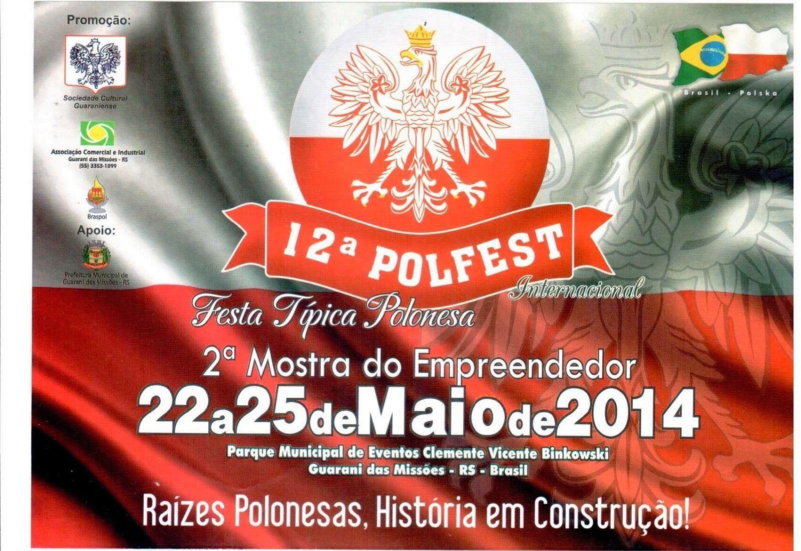 Polfest. Festa Típica Polonesa.