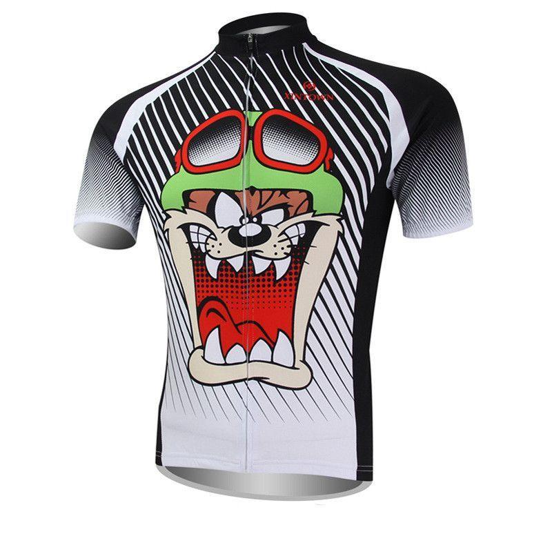 08fa490df XINTOWN Tasmanian Devil Men s Sportswear Short Sleeve Cycling Jersey  Sz  S-3XL