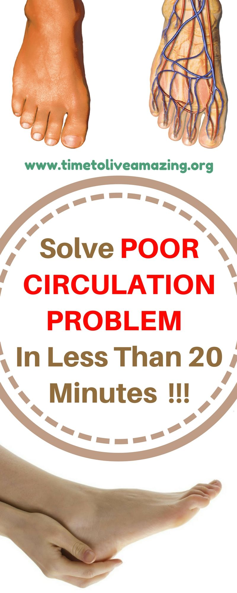 Solve POOR CIRCULATION PROBLEM In Less Than 20 Minutes
