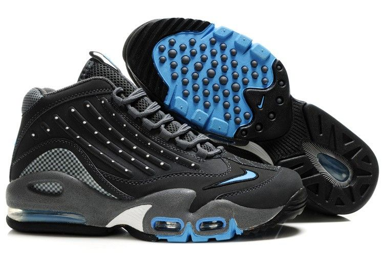 bae55189cc Nike Air Griffey Max 2 Black Blue | Nike Air Max shoes in 2019 ...