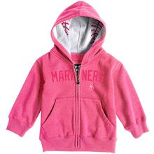 Seattle Mariners Toddler Baseball Zip Hood by Soft as a Grape
