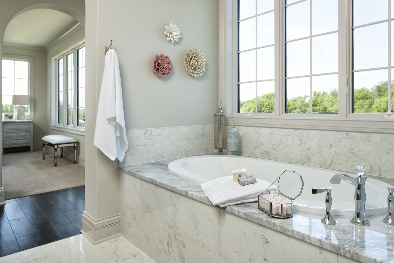 Image result for granite tub surround Bathroom design