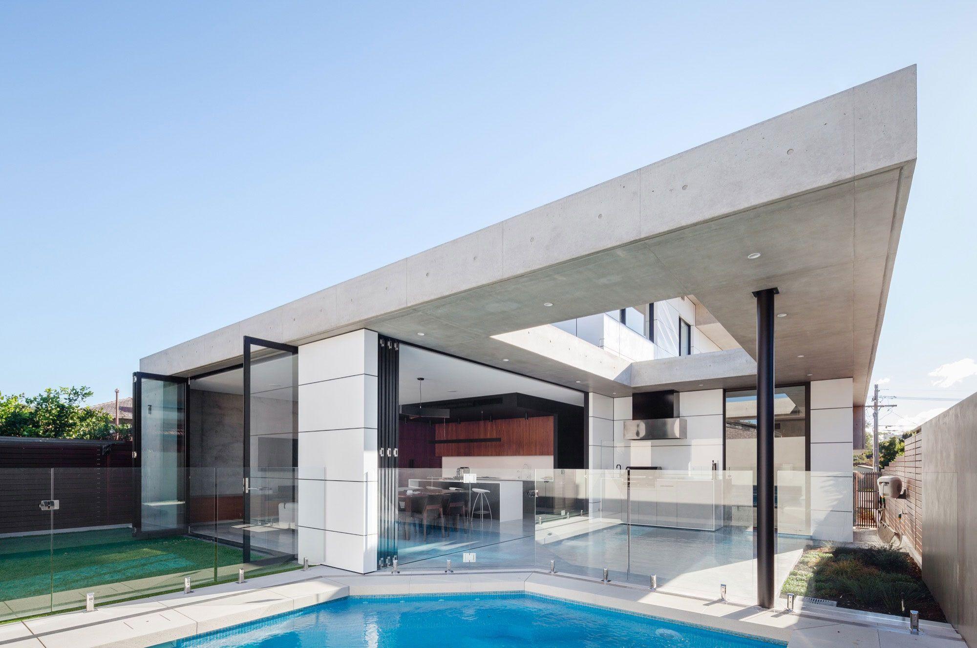 Studio Benicio entwirft ein offenes zeitgenössisches Haus in Concord ...