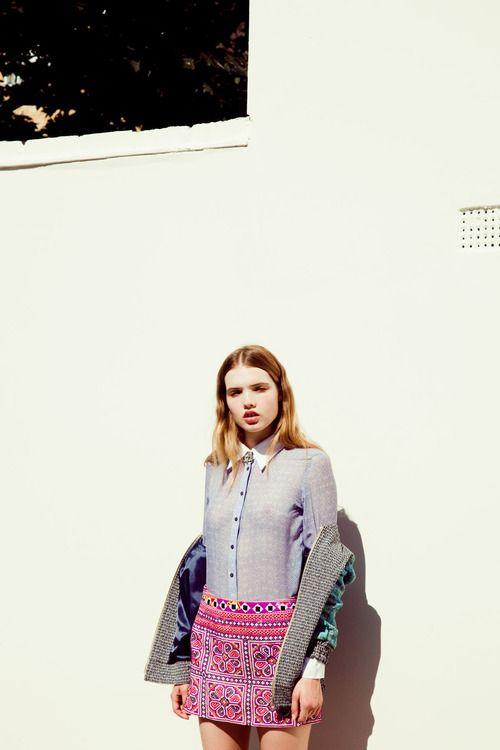 love the skirt: