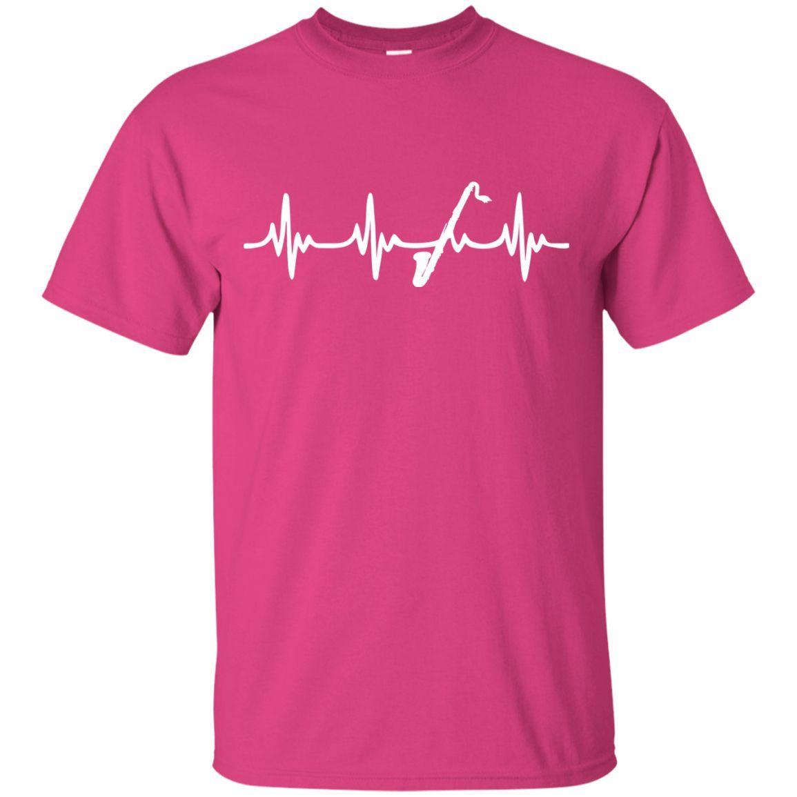 Bass Clarinet Heartbeat T-Shirt