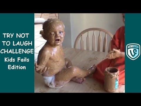 Try Not To Laugh Challenge (Impossible!): Funny Kids Fails ...