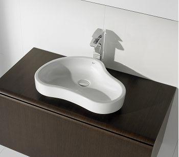 Vasque A Poser En Ceramique Urbi 8 Pour Meuble De Salle De Bain Roca Vannaya