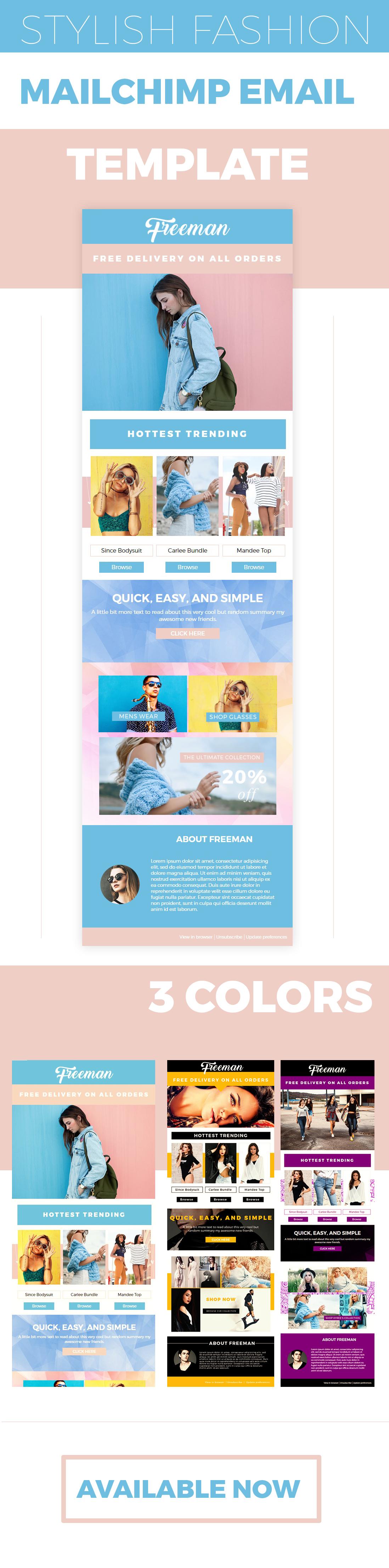 Unique Mailchimp Html Templates Picture Collection - Professional ...