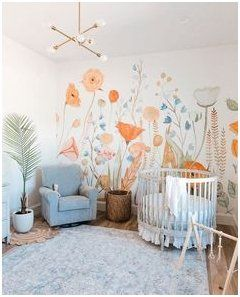 Photo of toddler wall mural ideas