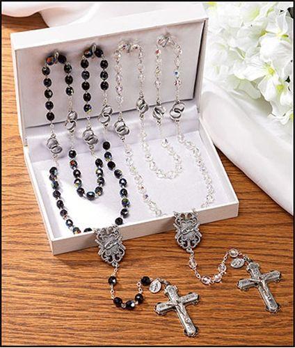 Wedding Rosaries Gift Set Catholic Wedding Gifts Pinterest