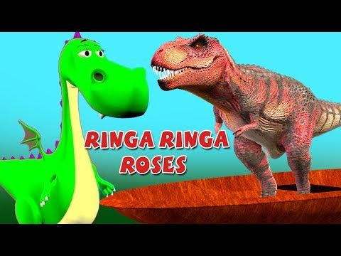 22 Dinosaur Row Your Boat Rhymes Colors Dinosaur Ringa Ringa
