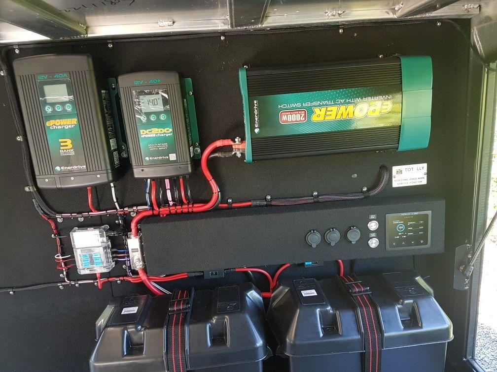 Custom enerdrive 12volt system. Enerdrive DCDC charger