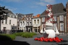 's-Hertogenbosch (or Den Bosch as it is known locallly) - the famous Dutch painter Hieronymus Bosch was born and lived all his life in and near this beautiful city in the Duchy of Brabant in The Netherlands  - http://www.jheronimusbosch-artcenter.nl/Engels/expositie.html
