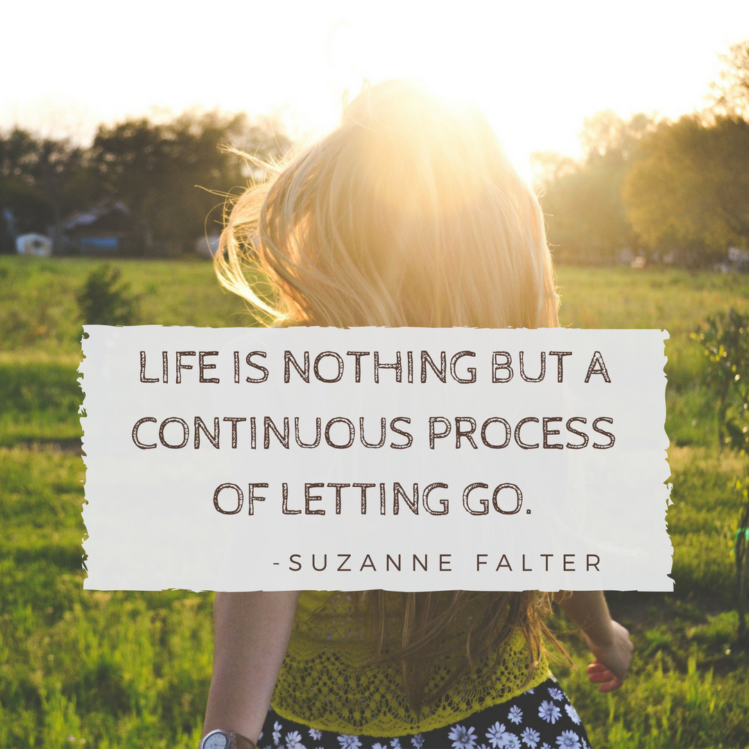 Life is nothing but a continuous process of letting go. Letting go of things we can't change. Letting go of our self doubt… | Quotes to live by, Overseas jobs, Life