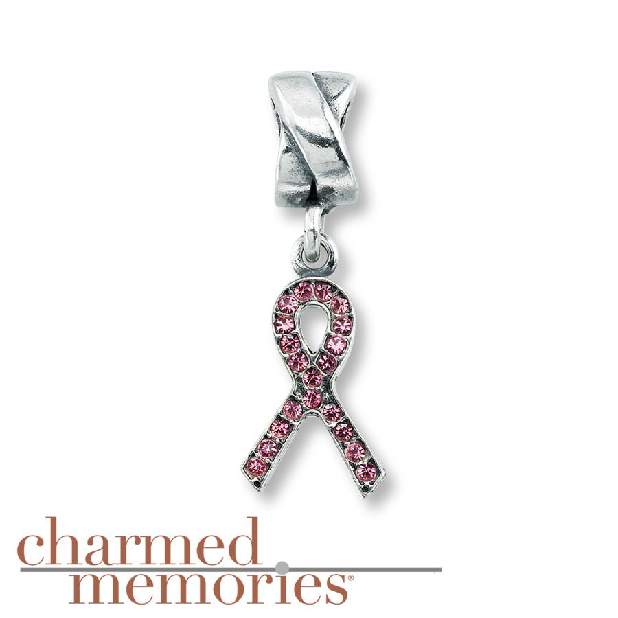 Kay Jewelers Breast Cancer Charm