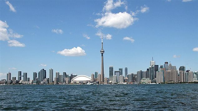 Toronto seen from Lake Ontario in 2012. A new report comparing 30 international…